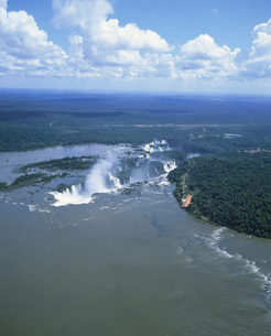 イグアスの滝の写真素材 [FYI03279782]