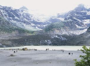 パンパリンダの黒い氷河の写真素材 [FYI03280022]