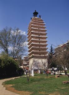 西寺塔の写真素材 [FYI03281493]