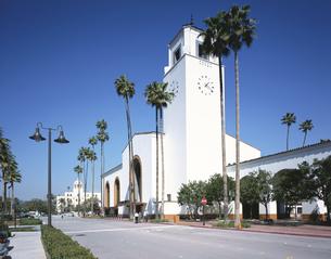 ロスアンゼルスのユニオン駅   アメリカの写真素材 [FYI03281965]
