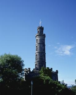 ネルソン記念塔・エジンバラ スコットランド イギリスの写真素材 [FYI03282082]