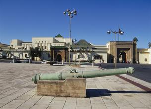 王宮にて ラバト モロッコの写真素材 [FYI03282184]