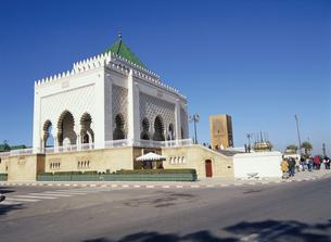 ムハンマド5世霊廟 ラバト モロッコの写真素材 [FYI03282195]