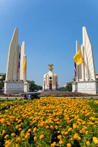 民主記念塔の写真素材 [FYI03284581]