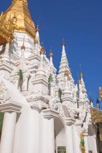 ヤンゴンのシュエダゴォン・パヤーの写真素材 [FYI03285321]