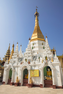 ヤンゴンのシュエダゴォン・パヤーの写真素材 [FYI03285363]