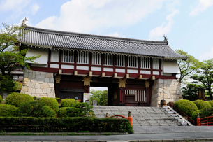 伏見桃山城の写真素材 [FYI03285954]
