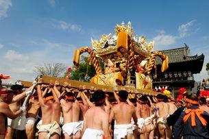 伝統・灘けんか祭りの写真素材 [FYI03285977]