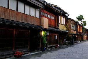 金沢・にし茶屋町の写真素材 [FYI03286030]