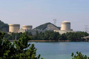 美浜原子力発電所の風景の写真素材 [FYI03286043]