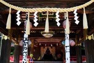 常宮神社本殿の写真素材 [FYI03286047]