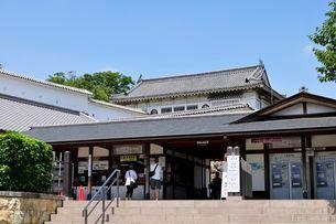 姫路城 入城口及び管理事務所の写真素材 [FYI03286236]