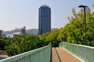 歩道橋から神戸市役所を見るの写真素材 [FYI03286271]