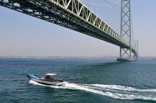 淡路 明石海峡大橋の写真素材 [FYI03286539]
