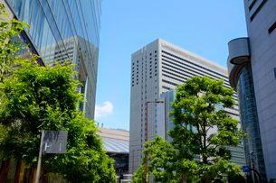 大阪梅田ビル街の写真素材 [FYI03286593]
