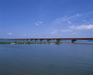 霞ヶ浦大橋の写真素材 [FYI03287142]