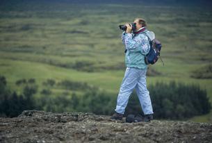 旅行者 シングヴェトリル国立公園の写真素材 [FYI03287397]