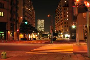 幕張ベイタウン夕景の写真素材 [FYI03287770]