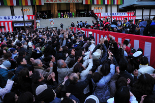 成田山節分会の写真素材 [FYI03288316]