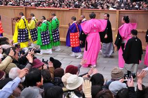 成田山節分会の写真素材 [FYI03288317]