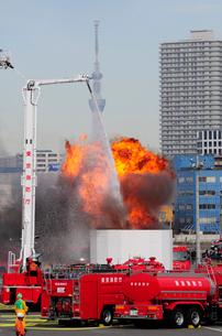 東京消防出初式の写真素材 [FYI03288682]