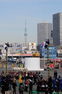 東京消防出初式の写真素材 [FYI03288701]