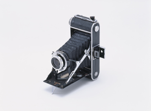 折りたたみ式カメラの写真素材 [FYI03288749]