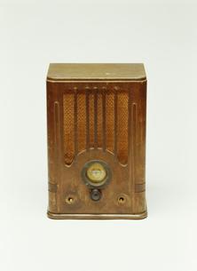 古いラジオの写真素材 [FYI03288782]