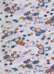 昭和初期の着物柄 菊模様他の写真素材 [FYI03289250]