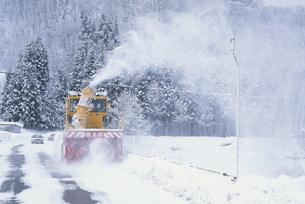 除雪車の写真素材 [FYI03289430]