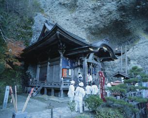 岩屋寺大師堂の写真素材 [FYI03290089]