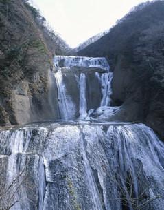 氷結した袋田の滝の写真素材 [FYI03290477]