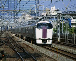 東海道線オール2階建電車の写真素材 [FYI03290677]