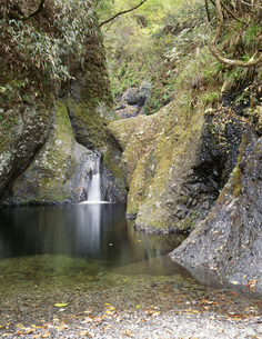 竜神峡亀ケ淵の写真素材 [FYI03290846]