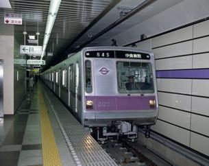 営団地下鉄半蔵門線の写真素材 [FYI03291041]