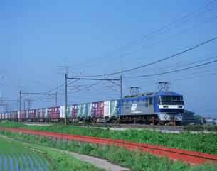 貨物列車の写真素材 [FYI03291186]