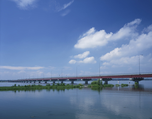 霞ヶ浦大橋の写真素材 [FYI03291545]