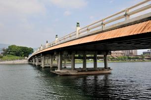 東海道 瀬田の唐橋の写真素材 [FYI03292506]