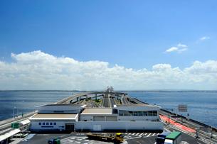 東京湾アクアライン海ほたるの写真素材 [FYI03292735]
