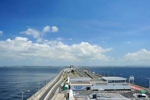 東京湾アクアライン海ほたるの写真素材 [FYI03292761]