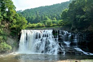 龍門の滝の写真素材 [FYI03292776]