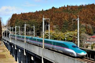 東北新幹線 はやぶさの写真素材 [FYI03292912]