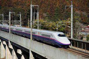 東北新幹線はやての写真素材 [FYI03292916]
