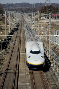 東北新幹線Maxの写真素材 [FYI03292920]