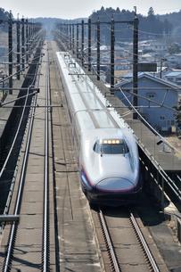 東北新幹線はやての写真素材 [FYI03292936]