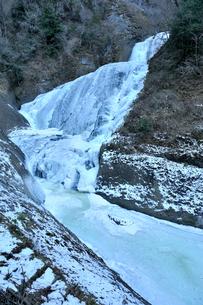 冬の袋田ノ滝の写真素材 [FYI03292957]