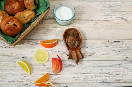 いろいろな調理パンの写真素材 [FYI03293115]