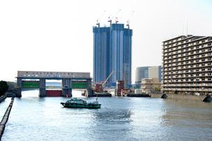 東雲水門の写真素材 [FYI03293795]