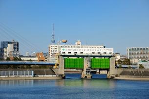 辰巳水門の写真素材 [FYI03293800]