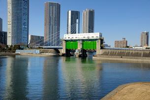 辰巳水門の写真素材 [FYI03293808]